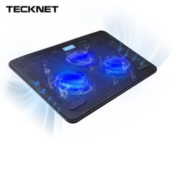 "Wholesale Designed Notebooks - TeckNet Quiet Notebook Laptop Cooler Cooling Pad Stand with 3 USB Powered Fans 1200 RPM Light Weight Ultra-Slim Design 12""-17"""