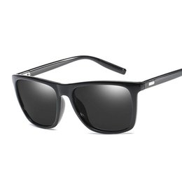 d02a825eb0e Polaroid sunglasses Unisex Square Vintage Sun Glasses Famous Brand  Sunglases polarized Sunglasses retro Feminino For Women Men