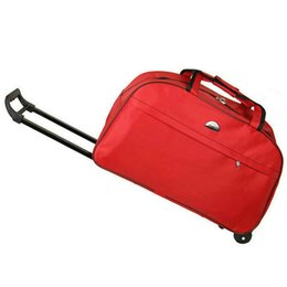 45d8deac9ad0 AMLETG New Waterproof Bag Thick Style Rolling Luggage Trolley Luggage Men  and Women Travel with Wheels Lgx20 Duffel