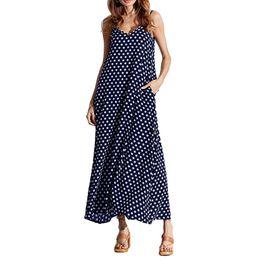 maxi long polka dot dress Rabatt 5xl Plus Size Sommerkleid Frauen Polka Dot  Print V- 805bb1c2e7