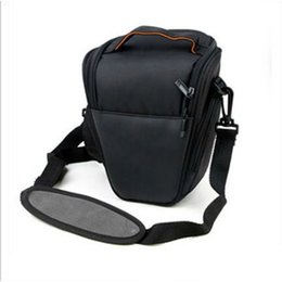 Cámara llevar bolsas online-Bolso de hombro al por mayor Carry Case para cámara NIKON D7000 D5100 D800 D3000 SLR DSLR
