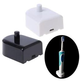 2019 tragbare wiegen Neue Zahnbürste Elektrische Wiederaufladbare USB Ladegerät für Marke O B Tragbare Ladestation Basis Mundhygiene CCA10020 100 Stücke rabatt tragbare wiegen