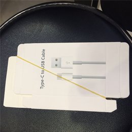 Wholesale iphone cable boxed - Retail box wholesale!! box for lighting cable for iphone adapter and type C cable iphone 4 cable with factory price