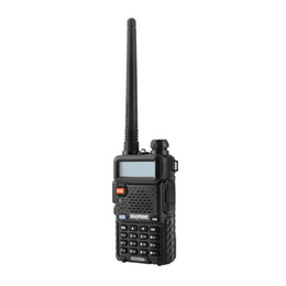 2021 walkie-talkie  Hot BaoFeng UV-5R UV5R Walkie Talkie Dual Band 136-174 Mhz 400-520Mhz Ricetrasmettitore radio bidirezionale con 1800mAH Auricolare senza batteria (BF-UV5R)