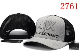 Wholesale caps hundreds - 2018 New fashion AX hats Brand Hundreds Tha Alumni Strap Back Cap men women bone snapback Adjustable panel Casquette golf sport baseball Cap