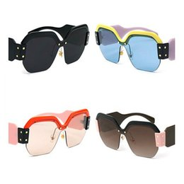 2019 sexy sport sonnenbrille Neue Ankunft Mode Sexy Cat Eye Sonnenbrille Frauen runde linsen Beschichtung Reflektierende Spiegel Diamant Dekoration Gläser Weibliche Shades UV400 günstig sexy sport sonnenbrille