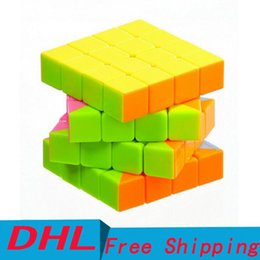 Wholesale competitions free - Fourth-order Toys Magic Cube Puzzle Intelligence Decompression Development Novice Professional Competition Kid Educational Toy Free Shipping