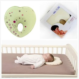 toddler flats Australia - Correction Shape Toddler Pillow Sleep Heart Baby Pillow infant Positioner Anti Roll Cushion Flat Head Protection of Bebe