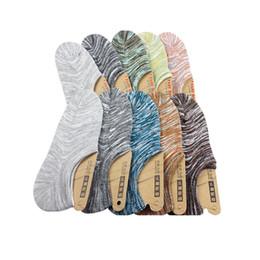 meias engraçadas chinelo Desconto 5 pares homens meias chinelos verão invisível Low Cut respirável meias masculinas clássico Retro masculino arte Meias Meias Sox Calcetines