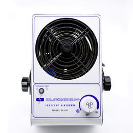 Ventilador de iones antiestático de escritorio de 220 V / 110 V Ventilador ionizador de aire ionizador, ionizador de aire pequeño estático SL-001 desde fabricantes