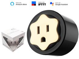 contrôle de la maison sans fil Promotion Nouvelle prise pratique WIFI Smart Plug prise US Smart Timing Socket prise de contrôle de sortie sans fil pour Smart Home Automation
