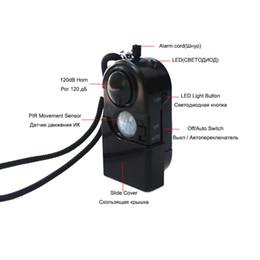 Canada Camping Voyage Portable Mini PIR Détecteur de Mouvement Infrarouge Détecteur Alarme 120dB Systèmes de Sécurité À Domicile Sans Fil Anti-vol Offre