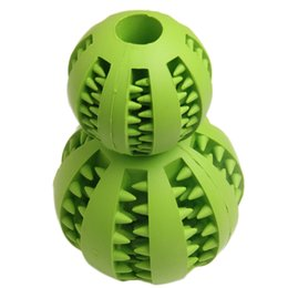 Wholesale Rubber Toys For Small Dogs - 7CM 5CM Soft Rubber Chew Toys Ball For Small Medium Large Dogs Toy Balls Chien Supplies Pet Training Playing Ball
