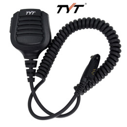 alto-falantes md Desconto NOVA IP67 À Prova D 'Água Handheld Mic Speaker para Rádio Walkie Talkie TYT Tytera MD-2018 Rádio Em Dois Sentidos MD398 MD2017