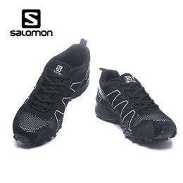 Argentina Salomon Trail zapatillas de deporte para volar zapatillas de deporte de punto para la montaña Damen Sneakers 2018 PE Athletic Sport Shoes zapatillas de deporte al aire libre bonito regalo Suministro