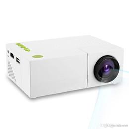 projecteurs d'école Promotion Original LCD Haute Qualité Mini Projecteur HD Résolution Multimédia LED Appareil de Projection pour Home Cinema Office School Hot + NB