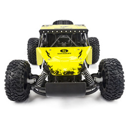 control remoto f1 Rebajas Electric Rc Car 1:16 High Speed Rock Rover Toy Control remoto Radio Control Machine Off-Road Vehicle Toy Rc Racing Car for Kid
