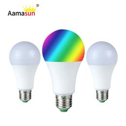 E27 RGB LED Ampoule 5W 10W 15W 16 Couleurs RGBW RGBWW Lampe Night Light 28 Touche IR Télécommande 85-265V Holiday Light Light ? partir de fabricateur