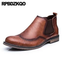 c5fcdee09f sapatos de vestido de asa marrom Desconto Sapatos de grife de negócios full  grain designer de