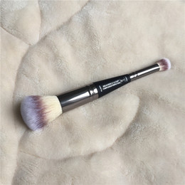 escova de maquiagem dupla final Desconto ELE CELESTIAL COMPLEXO LUXO PERFEIÇÃO ESCOVA # 7 Escovas Alta Qualidade Deluxe Maquiagem Rosto Blender DHL Livre