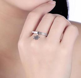 S925 bague en argent sterling diamants frais anneau de trèfle fleurs en gros exquis mode fine nourriture doigt bague filles cadeau ? partir de fabricateur