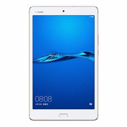 2019 tableta china teléfono sim Original 8.0 pulgadas Huawei MediaPad M3 Lite 4GB RAM 64GB ROM Android 7.0 Tablet PC WIFI Snapdragon435 / MSM8940 Octa Core 8.0MP ID de huella digital para PC