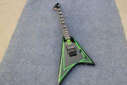 2019 left handed 12 cordas guitarras Alexi 600 Greeny Alexi Laiho assinatura guitarra pode ser personalizado EMS frete grátis