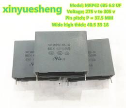 2019 kondensator blau MKP62 X2 685 275 v 305 V 6.8uf p = 37,5mm farrah ampere kapazität, hemmt elektromagnetische interferenz von stromversorgung, 6 STÜCKE in einem paket