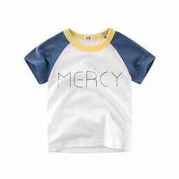 Wholesale Funny Baby Shirts - Baby Boys Clothes T-Shirt Girls Clothing T Shirts Funny Kids Toddler Tshirt Children's T-Shirts For Girl's Boy's Tops Size 2-10Y