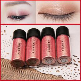 Wholesale 3d glitter makeup - M Brand Makeup Glitter Eyeshadow Powder Waterproof Loose Shimmer Eyeshadow Pigment 3D Nude Metallic Eye Shadow Makeup Cosmetics 2.5g