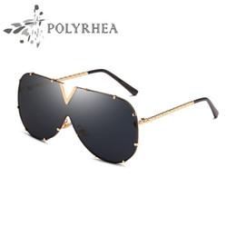 Wholesale Sun Logos - New Designer Sunglasses Men Women Brand Sunglasses UV Protection Lens Sun Glasses Gold Frame Laser Logo Women Top Quality With Box