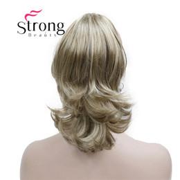 синтетический конский хвостик Скидка 12-дюймовая двойная волнистая защелка в виде когтя для наращивания волос с хвостиком Блондинка из синтетических волос с зажимом челюсть / коготь