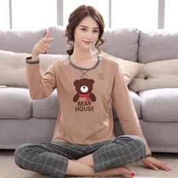 2cd9997165 New Autumn Winter Women Pyjamas Thin Long Sleeve Pajamas Set Student  Tracksuit Tops Female Pyjamas Sets Night Suit Sleepwear