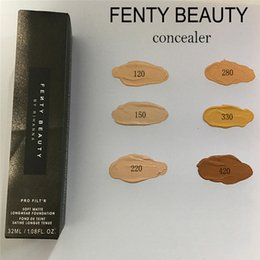 Wholesale Transparent Lights - Fenty Beauty 6 Colors Pro Fit Soft Matte Longware Foundation Primer Liquid Concealer Make up Kit