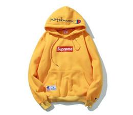 Wholesale Flag Logos - Designed Hoodies Men flag MOTION LOGO Hoodie Sweatshirt sportswear Sweater men women Hoodie Harajuku Palace vlone pigalle tracksuit champioe