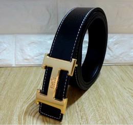 ceinture en cuir marron large pour femme Promotion Hot vente hommes ceintures de mode mode cuir véritable ceintures de luxe pour hommes et femmes affaires wasit ceinture cadeau