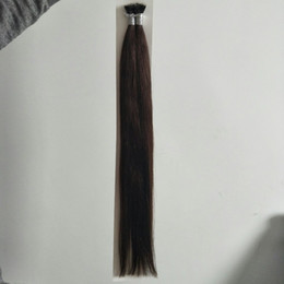 ELIBESS волосы-русский Реми нано кольцо человеческих волос расширения 16