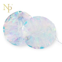 Wholesale Candy Films - Nicro Rainbow Film Glowing Honeycomb Ball DIY Colour Party Decoration Christmas Shopwindow Homes Decor Supplies