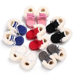 394f798ba03f tendencia c Rebajas Tendencia de algodón de invierno zapatos súper gruesos  de lana pura baja para