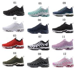 Wholesale Tn Trainers - 2018 Hot Sale Spring and Fall casual Classic Plus TN Ultra Camouflage Running Shoes Men Women Trainer Air Cushion Breathble Shoes size 36-45