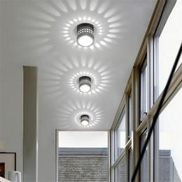 Barra de luz led de cor da parede on-line-Simples criativo LED lâmpada de parede de alumínio cor de efeito de luz KTV bar luzes para Corredor Corredor Casa Hall Lâmpadas Decorativas