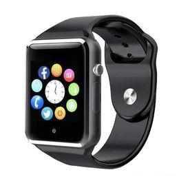 A1 Smartwatch Smart Watches Bluetooth Wearable Männer Frauen Smart Watch Mobile mit Kamera für Android Smartphone Smartwatch Camera von Fabrikanten