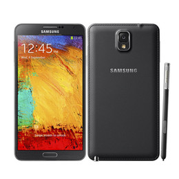 "Anmerkung 5.7 android quad kern online-Original Samsung Galaxy Note III 3 Note3 N9005 16 GB / 32 GB ROM Android4.3 13MP 5,7 ""Quad Core 4G LTE entsperrt refurbished Telefon"