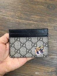 Wholesale Leather Slim Wallet Women - Mens Wallet Fashion Retro Luxury Brand Leather Purse Men Wallets 2018 New Famous Brand Designer High Capacity Long Wallets Slim 1qsz