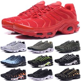 Wholesale red hot hard - 60 Colors Wholesale High Quality Hot Sale TN Men's Running Sport Footwear Sneakers Trainers Shoes size 7-12