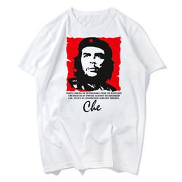 Wholesale People Heroes - Cuba People Hero Che Guevara T shirt men women Tops Tees Men T-shirts 2018 Fashion Men's Nice Short Sleeve plus size
