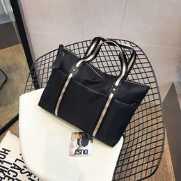 Wholesale Korean Style Casual Large Handbags - 2017 New Fashion Korean casual style duffle bags handbags travel bags waterproof fold tote bags