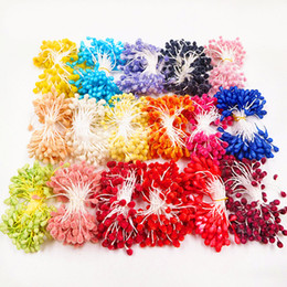 berry beads diy Promo Codes - 15 grams (0.5  ) artificial simulation glass beads berry bouquet wedding bouquets of household DIY wreath material accessories