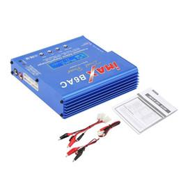 2019 cargador lipo b6 Azul iMAX B6 AC B 6AC Lipo NiMH 3S RC Cargador de equilibrio de batería de RC hobby Li-ion Ni-Cd RC Balance de batería Cargador digital Descargador rebajas cargador lipo b6