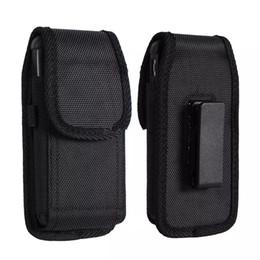 Clip de caja universal online-Funda universal para el deporte Nylon Holster Clip de cinturón Funda para teléfono Funda para iPhone X XR XS MAX 6 7 8 Plus Samsung Huawei
